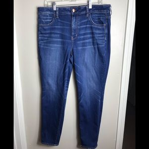 American Eagle Super Stretch Hi-Rise Jegging Crop